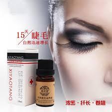 2017 venda quente marca de maquiagem cina chinesa tratamentos crescimento dos cílios soro potenciador líquido rápido