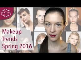 the 6 best makeup trends 2016 trend boards for spring summer justine leconte
