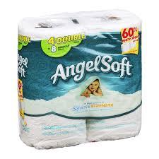 Bathroom Tissue New Angel Soft Bathroom Tissue Softness Strength 48ROLL Angelo