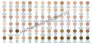Ben Nye Color Chart Hd Essential Palette Makeup Matte Creme Foundation