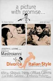 Image result for divorce italian style movie poster