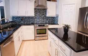 kitchen backsplash for black countertop backsplash ideas black granite countertops with room for countertop