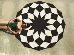 excellent outdoor round rugs 1 aqua tayse vnd1719 8rnd 64 1000