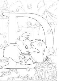 D For Dumbo Disegni Disegni Disney Disegni Da Colorare E Disegni