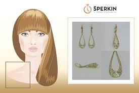 šperky V Uších A Správný účes Náš Obličej Vytvarují K Dokonalosti