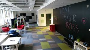 Chalkboard Walls In The Budapest Office  TOPdesk Hungary