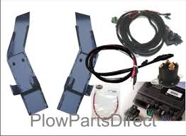 western snow plow complete truck side ultramount mounting kit view larger image