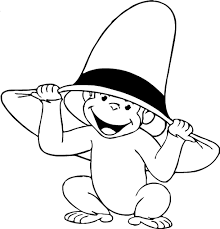 Monkey Coloring Pages Images At Getdrawingscom Free For Personal