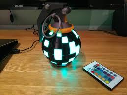 Boogie Bomb Led Light Led Boogie Bomb Desk Lamp Get Boogie Gamer Gift Battle