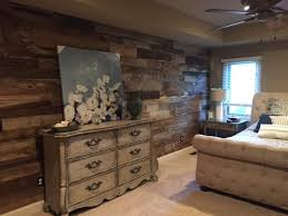 how to install reclaimed wood wall planks over drywall with diy barnwood plans 8