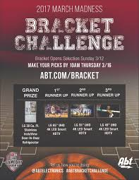 Abt Kitchen Appliance Packages Enter The Abt Bracket Challenge Win Great Prizes From Lg Abt
