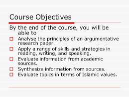 le english for academic purposes ppt video online 3 course objectives