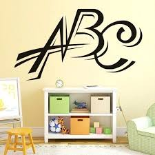 wall decal letters vinyl wall stickers letters wall decal nursery decorative waterproof art decals removable home