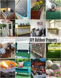 Diy Backyard Projects 20 Diy Outdoor Projects The Idea Room