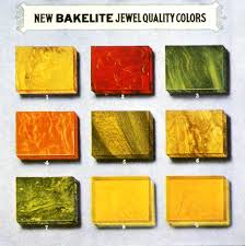 Bakelite Color Chart File Bakelite Color Chart 1924 Gifts To Treasure Embed Art