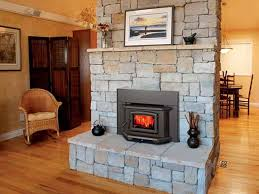 ideas prefab fireplace insert stone hardwood flooring for simple prefabricated wood burning fireplace