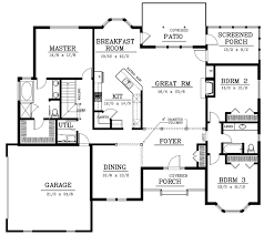 House Plan 59028 At FamilyHomePlanscom2200 Sq Ft House Plans
