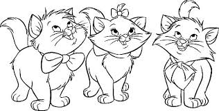 The Aristocats Coloring Pages Free