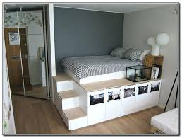 Queen Bed With Storage Under Interesting Queen Size Bed Frame With ...