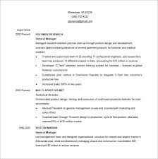 Business Resume Template Delectable Business Resume Template 60 Free Word Excel PDF Format Download