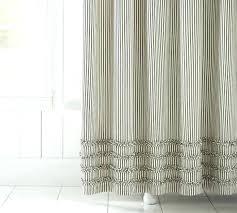 ticking stripe shower curtain farm shower curtains barn door window ers style shutters rustic curtain animal ticking stripe shower curtain