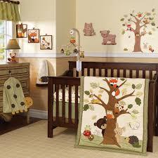 top woodland crib bedding