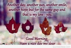 Good Morning My Love Quotes Impressive Good Morning