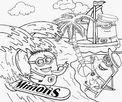 Small Picture minion coloring book Archives coloring page