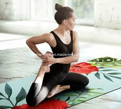 China Washable Custom Full <b>Color</b> Printing <b>Natural</b> Rubber <b>Yoga</b> ...