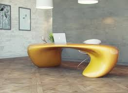 futuristic office furniture. furniture light yellow futuristic office desk with modern silver t