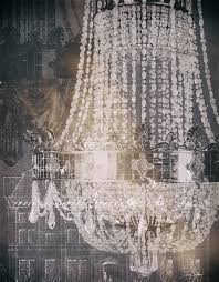 chandelier art i by tina carlson