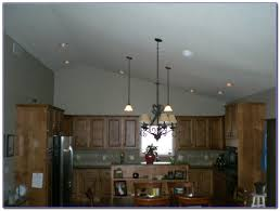 lighting for slanted ceiling. Image Of: Kitchen Sloped Ceiling Lighting For Slanted G