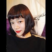 杉咲花の髪型は切りっぱなしショートボブオン眉前髪オーダー方法は
