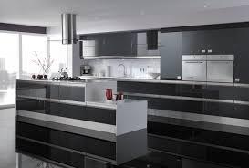 Black High Gloss Kitchen Doors Sorrento High Gloss Graphite Pebble Kitchens
