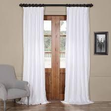 linen curtain panels. Rose Street Crisp White 120 X 50 In. Linen Curtain Panel Panels P