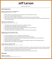 Security Guard Resume Security Guard Resume Teller Resume Sample 21
