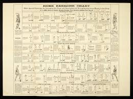 Home Exercise Chart 1891 Home Exercise Chart With Specia