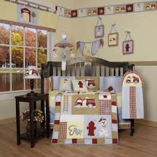 Geenny Boutique Baby Boy Fire Truck Crib Bedding Baby Olaf S Firefighter Baby Nursery Decor