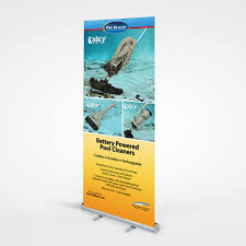 Retractable Display Stands 100x100cm Durable Portable Aluminum Retractable Pull Up Roll Up 40