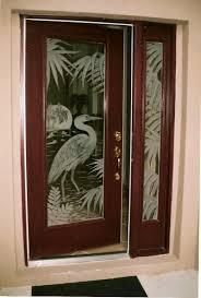 beautiful home interior decoration using etched glass door design artistic home interior decoration ideas using