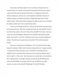 teenager stereotypes college essays similar essays