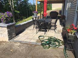 2017 bedford small patio under deck