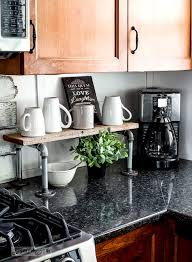 Diy kitchen projects Budget Friendly Make Mug Stand With Plumbing Pipe Diy Project Homebnc 35 Best Diy Farmhouse Kitchen Decor Projects And Ideas For 2019