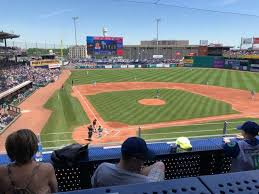 Dunkin Donuts Park Section 210 Row B Seat 5 Hartford