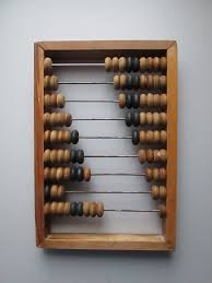 Abacus Wall Art Vintage Wood Abacus Russian Calculator Large Wooden Abacus Made In