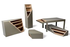 cool furniture design. Gorgeous Cool Modern Furniture Cutline Collection Of Wood Alessandro Busana Design S