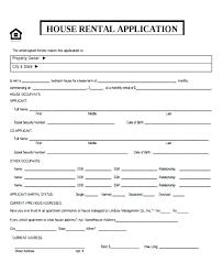 Printable Sample Free Rental Application Form Form Free Farm