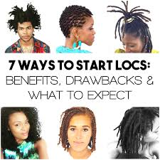 7 Methods To Start Locs Drawbacks What To Expect