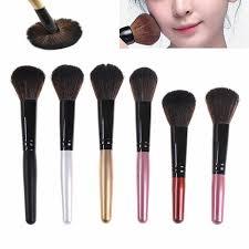 <b>1PC Women's</b> Brushes Wooden Foundation Cosmetic <b>Blush Brush</b> ...