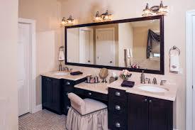 Handicap Bathroom Vanities Bathroom Design And Decoration Using Black Mahogany Wood Prefab